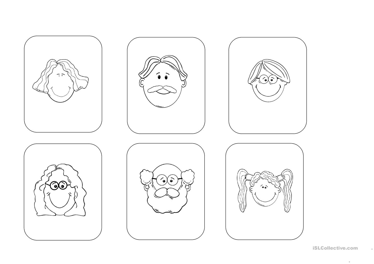 My Family Listening Activity Young Learners Worksheet