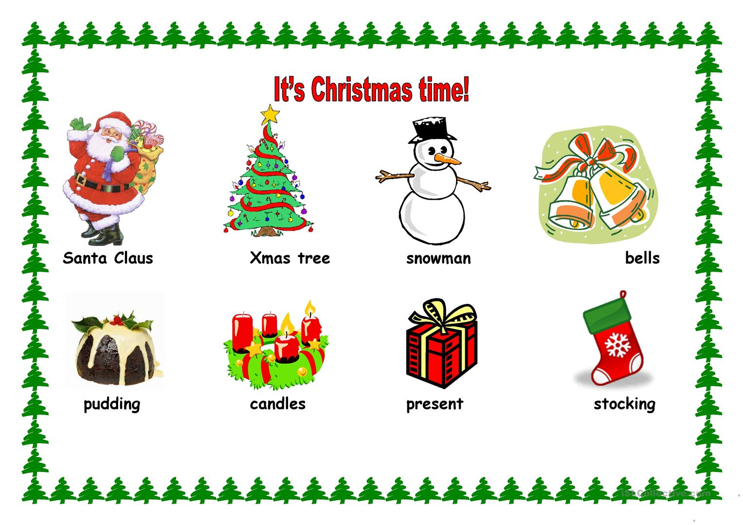 It S Xmas Time 2 Sheets Worksheet