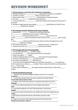 5 Free Esl Cloning Worksheets
