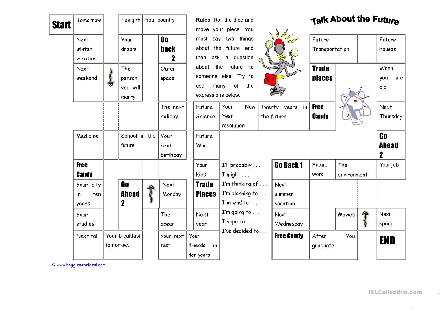 Dice Game Worksheet