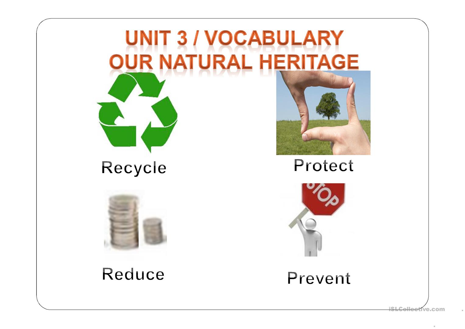 Preserving Our Environment