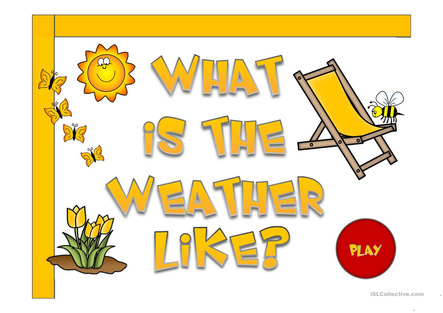 What S The Weather Like