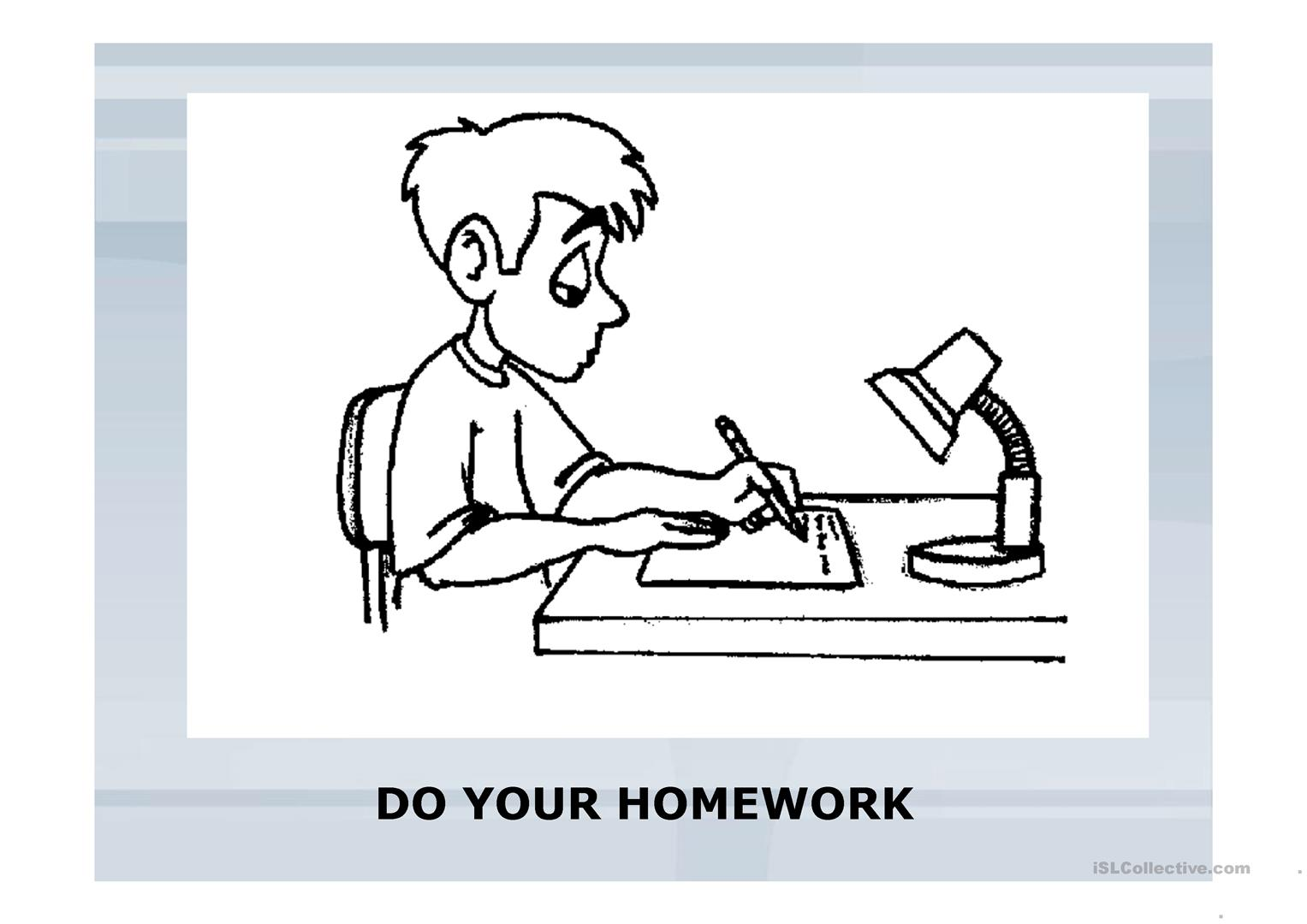 Classroom Expressions And Comands Worksheet