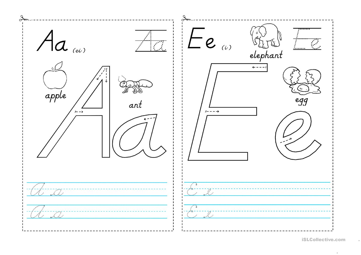 Vowels Worksheet