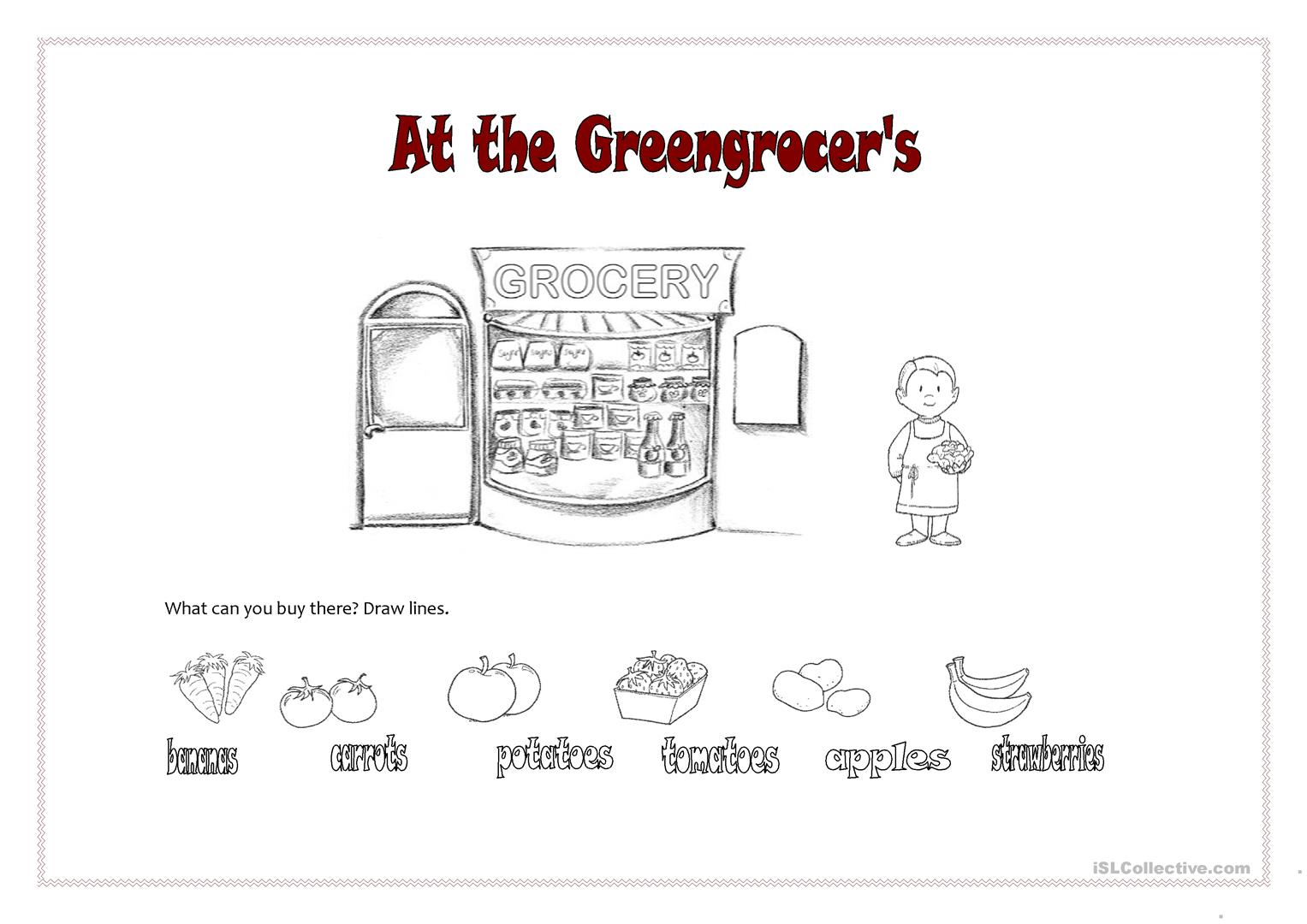 At The Greengrocer S