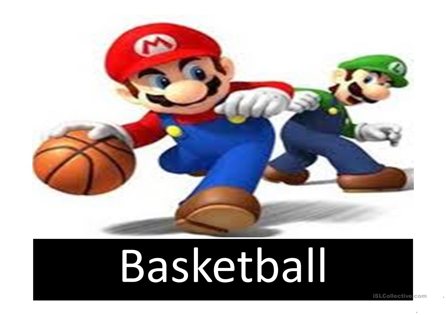 Sports With Mario Worksheet