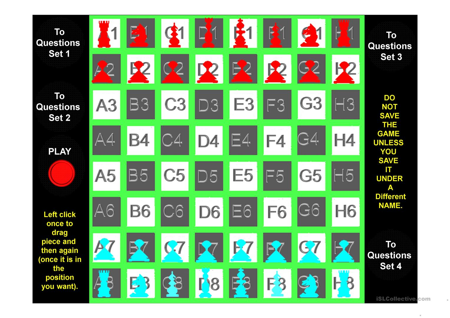 Verbs All Tenses 100 Chess Or Checkers Game