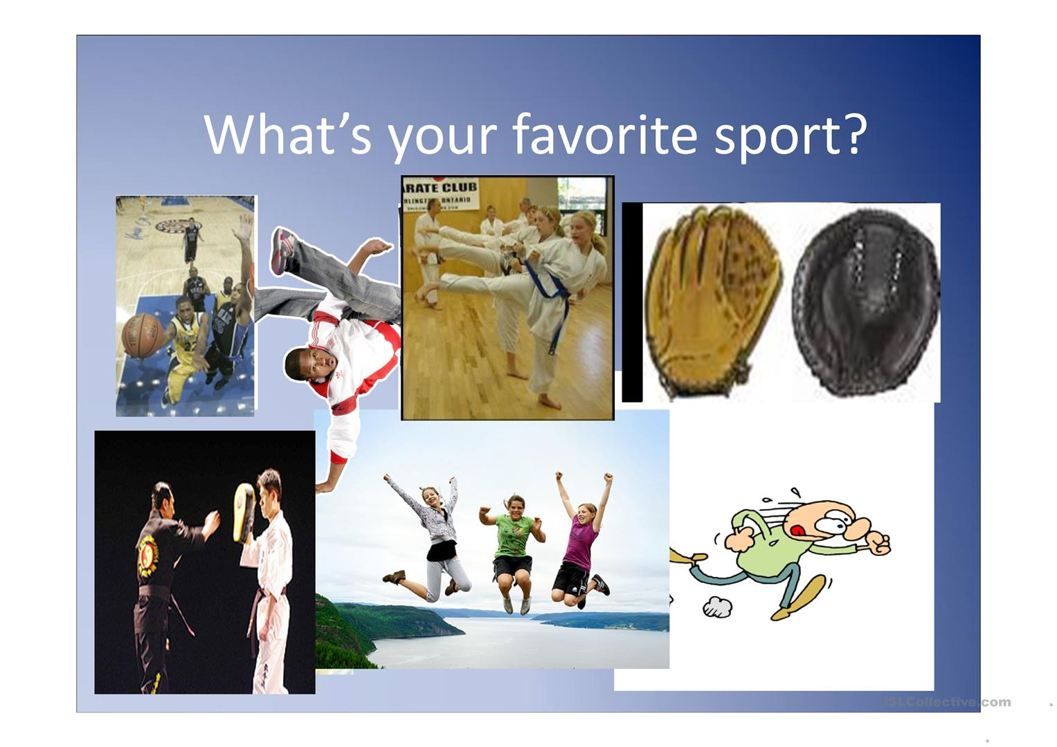 What S Your Favorite Sports Ppt Worksheet