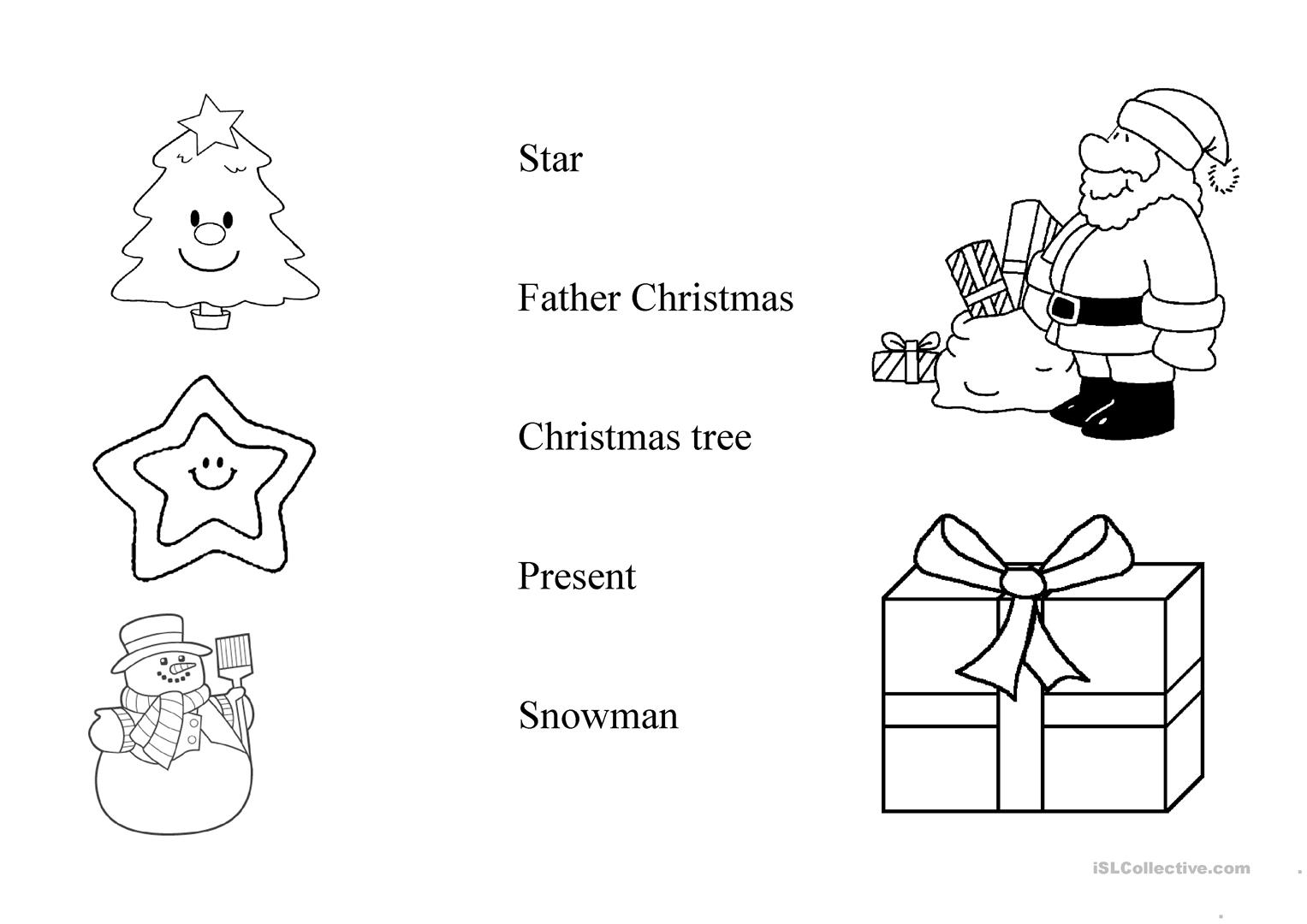 Christmas Presents Worksheet
