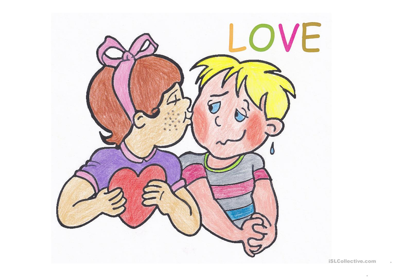 6 Valentine S Day Flashcards Worksheet