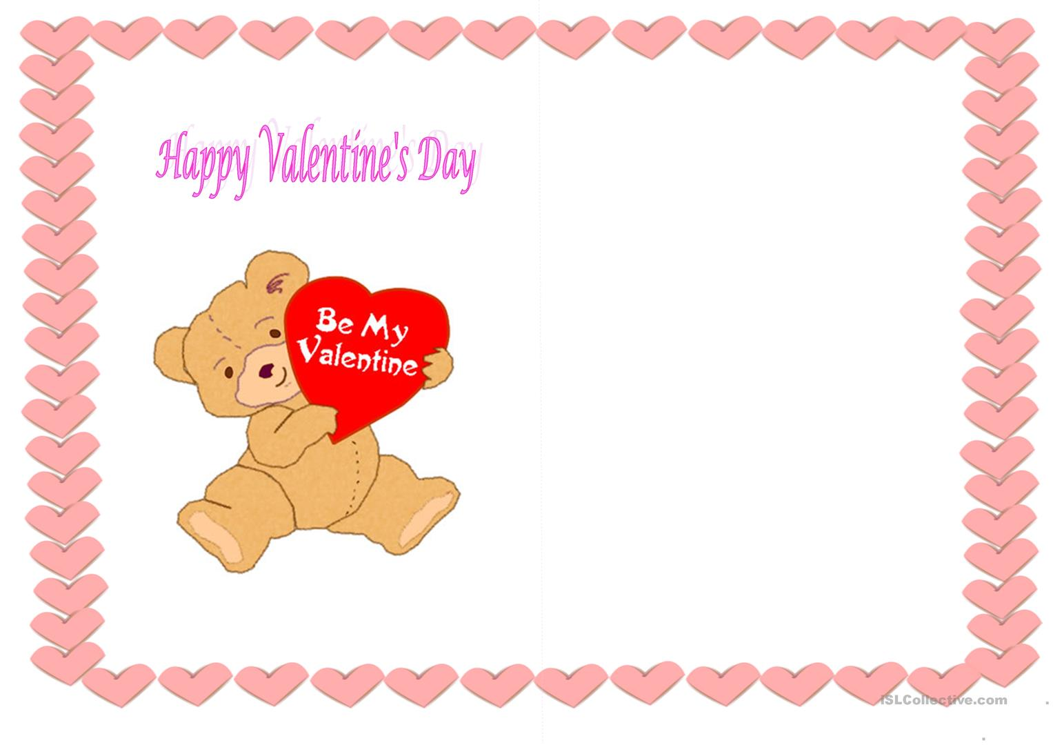 Cards For St Valentine S Day