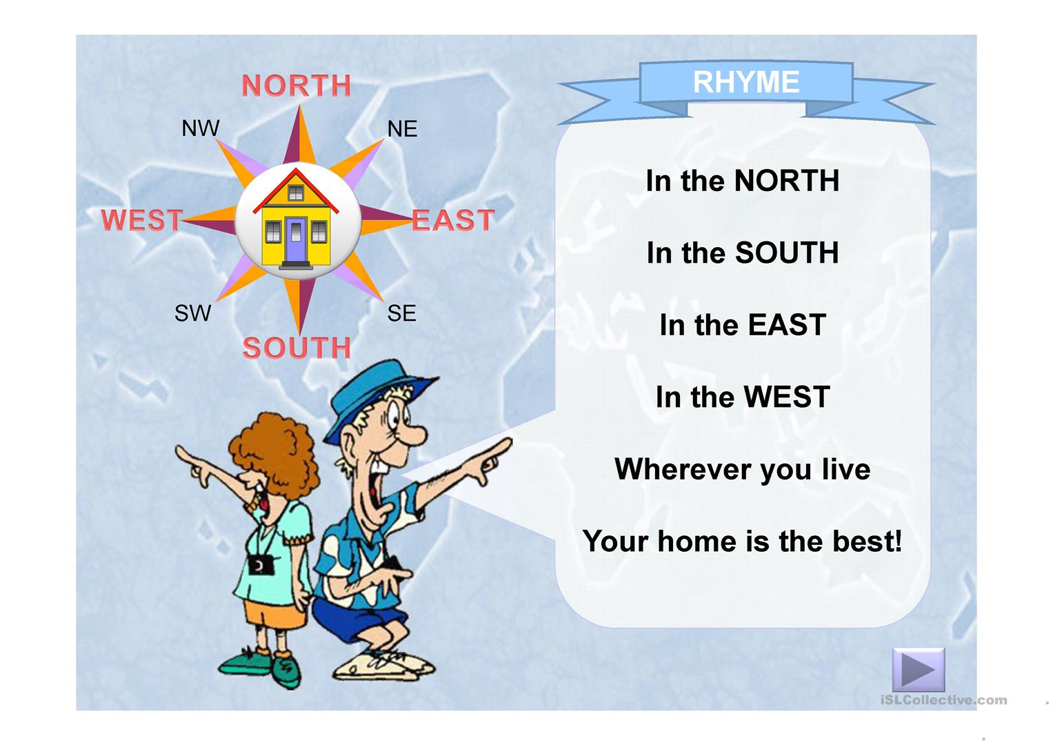 Compass Points Worksheet
