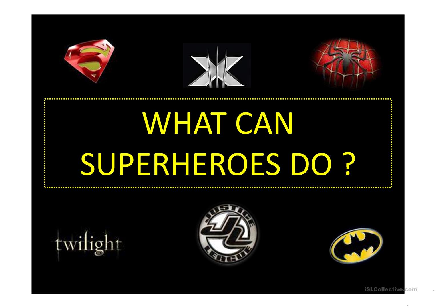 What Can Superheroes Do