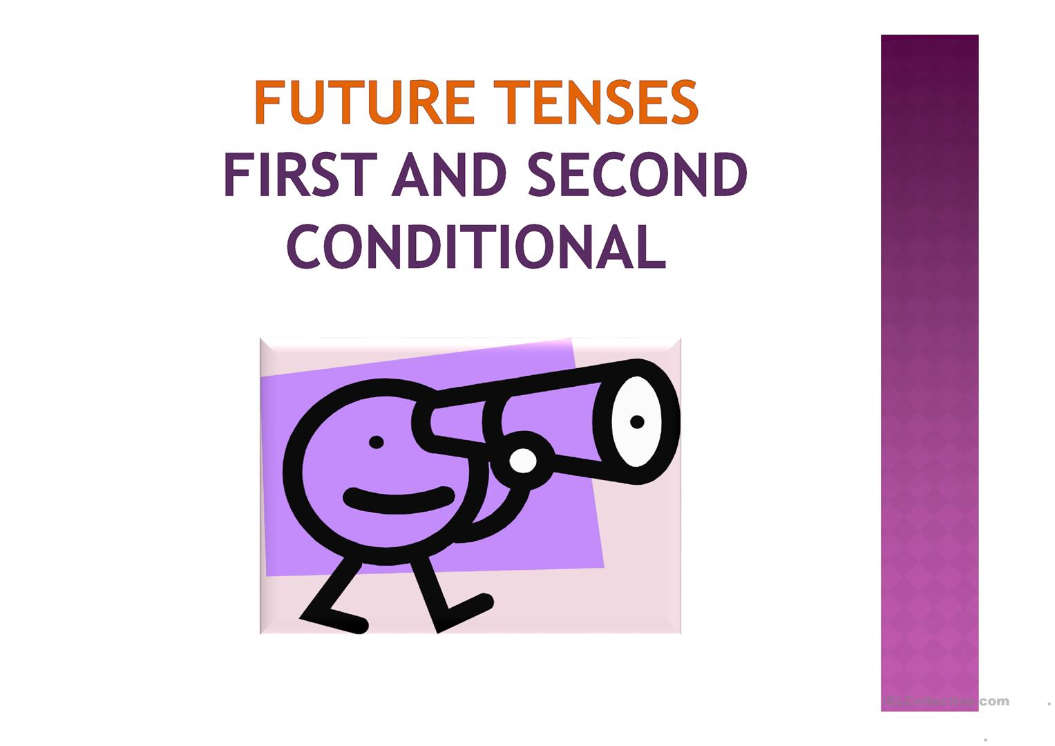 Future First And Second Conditional Worksheet