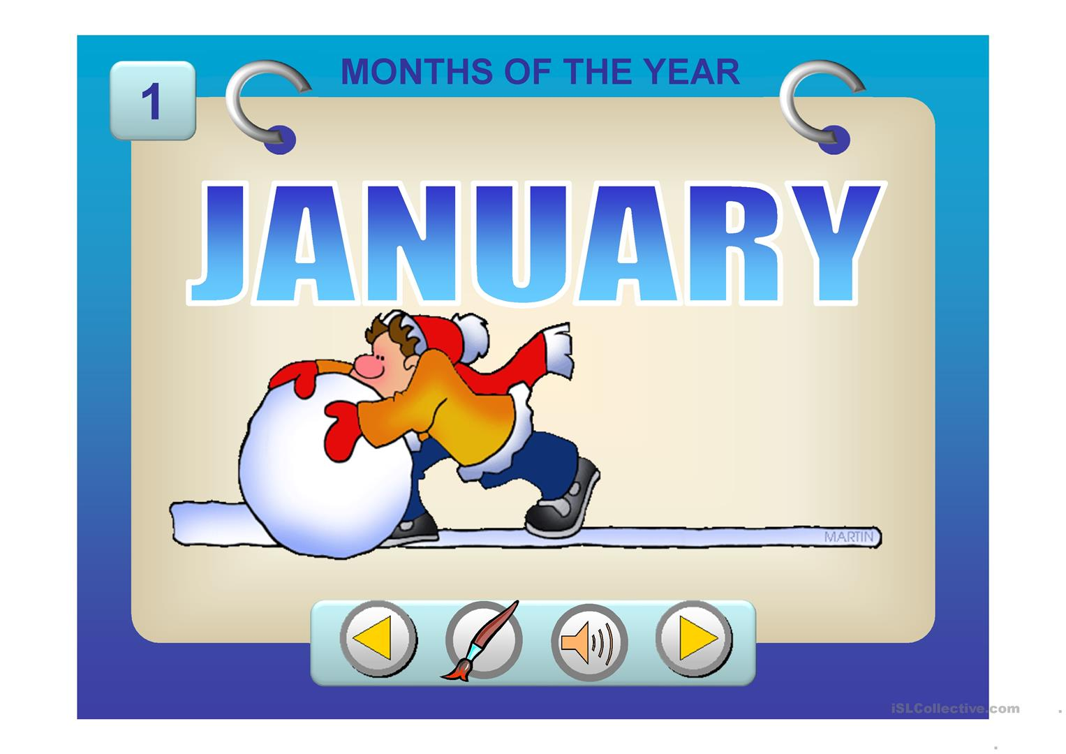 Seasons And Months Ppt Worksheet