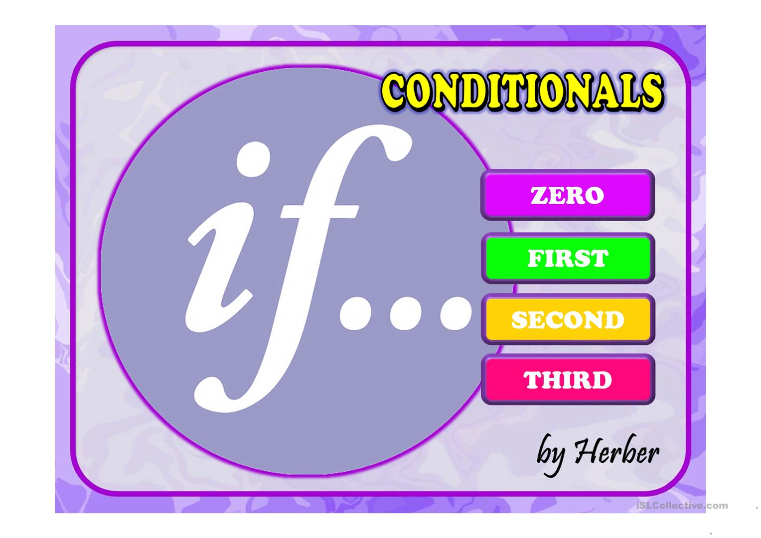 Conditionals Ppt Worksheet