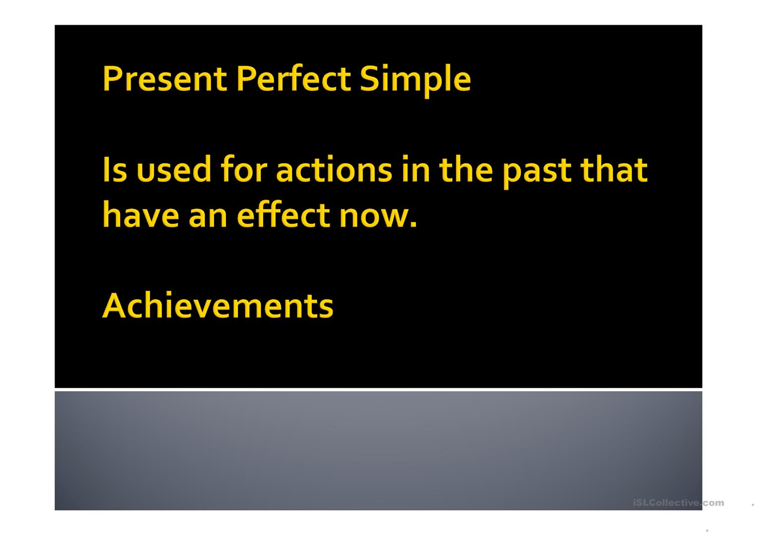 Present Perfect Simple Time Adverbials Already Just Ever Yet Never Worksheet