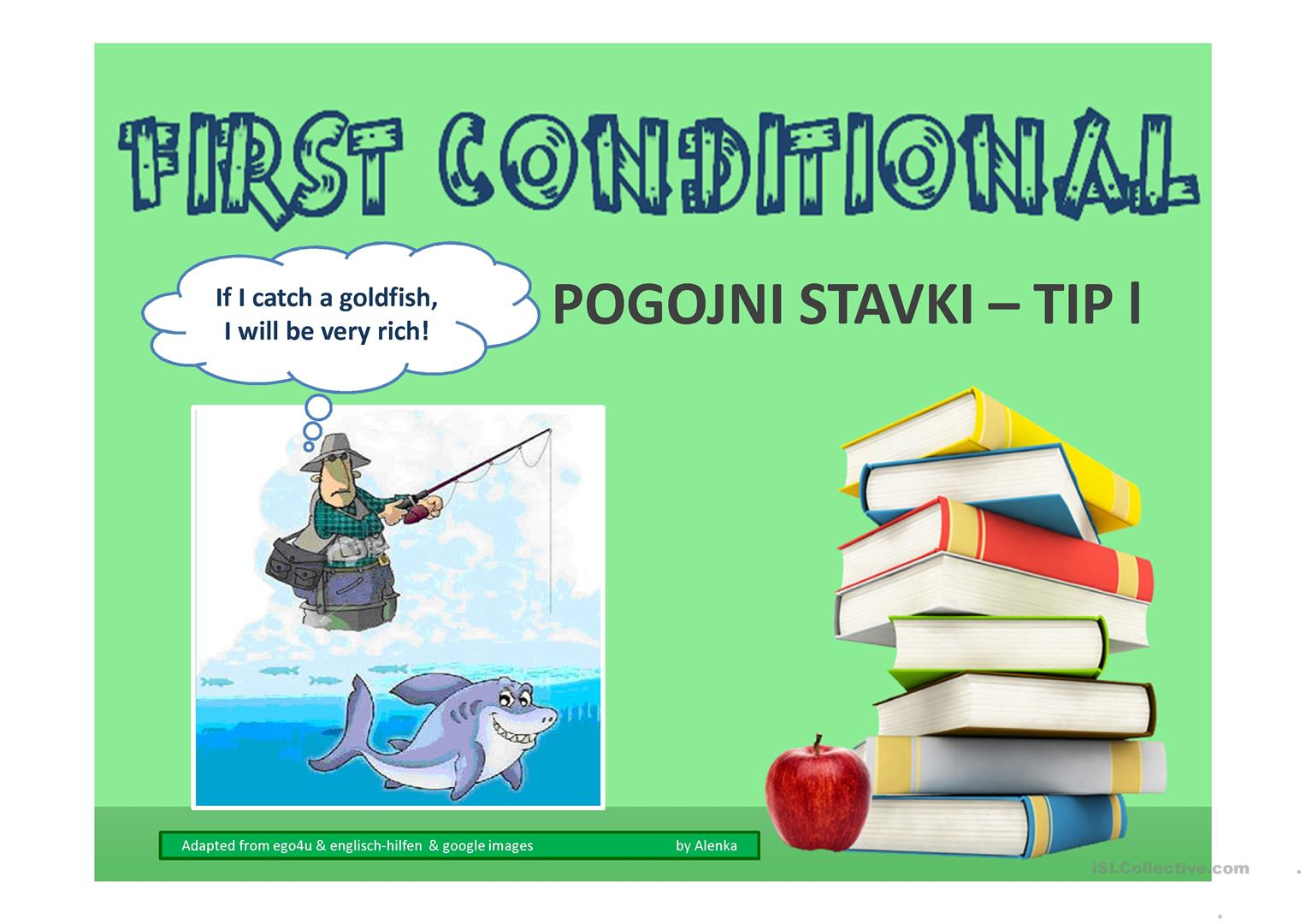 First Conditional Worksheet