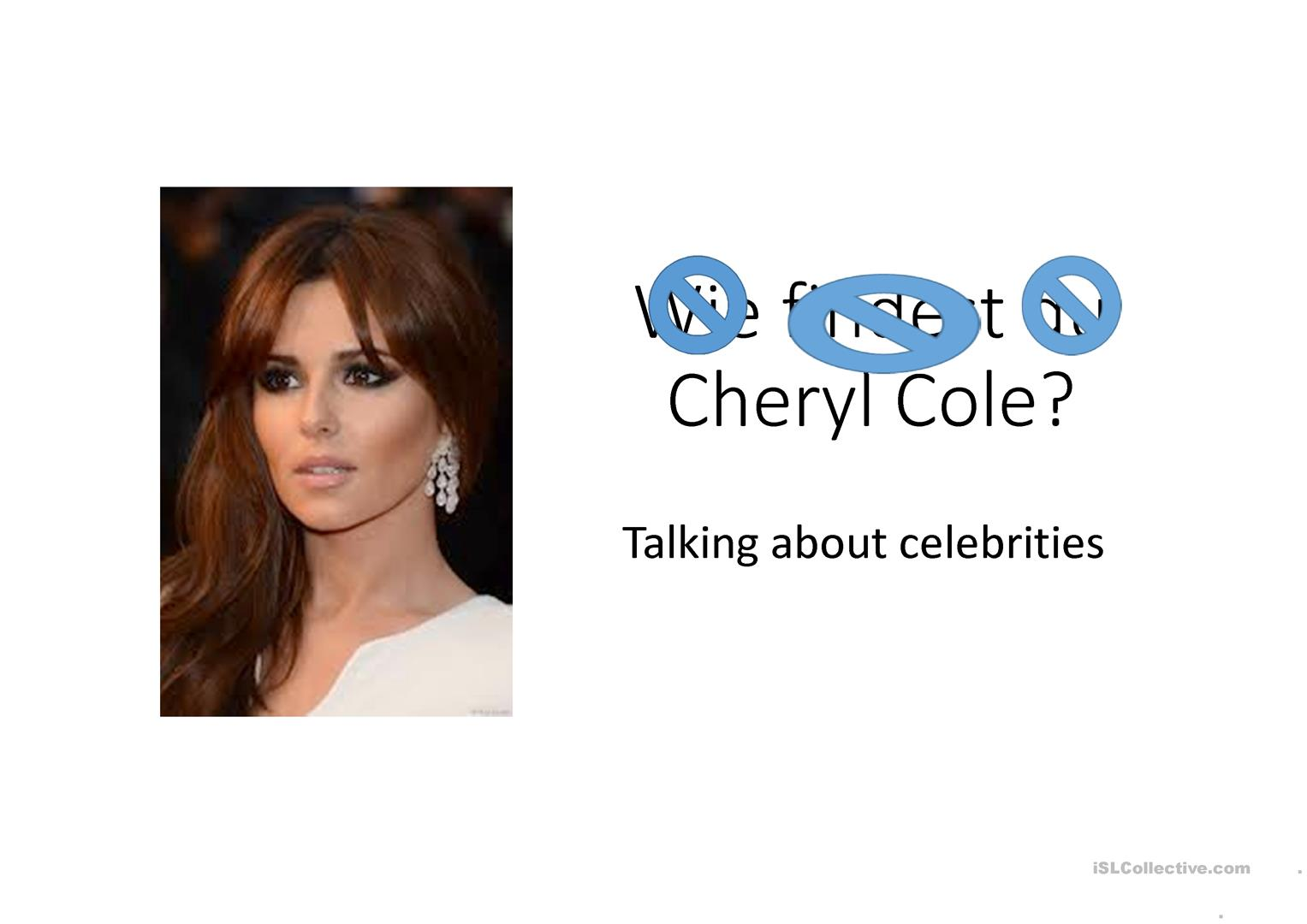 Talking About Celebrities Worksheet