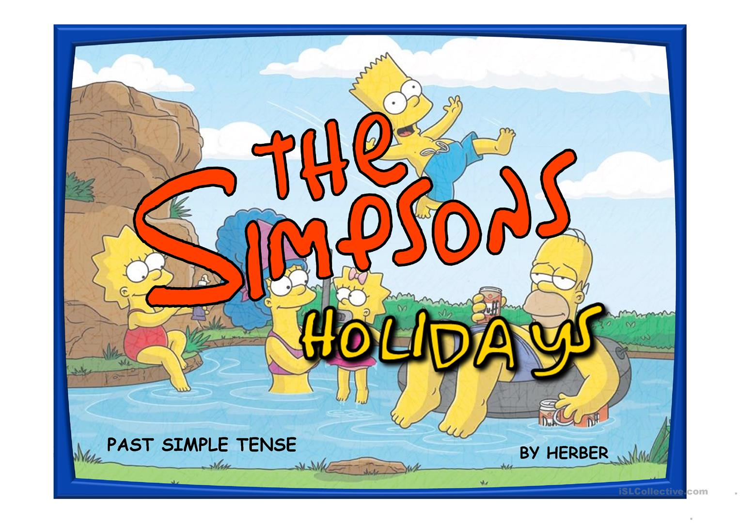 The Simpsons Holidays Ppt