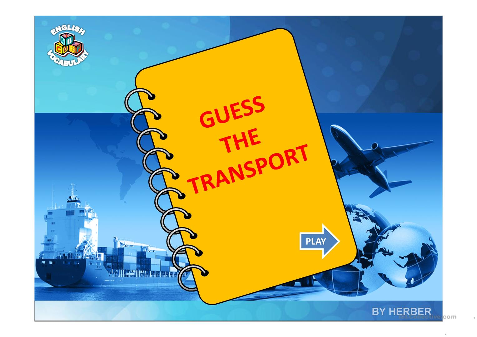 Guess The Transport Worksheet