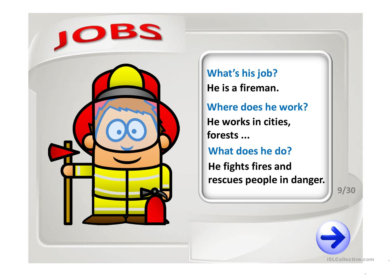 Guess The Job Worksheet