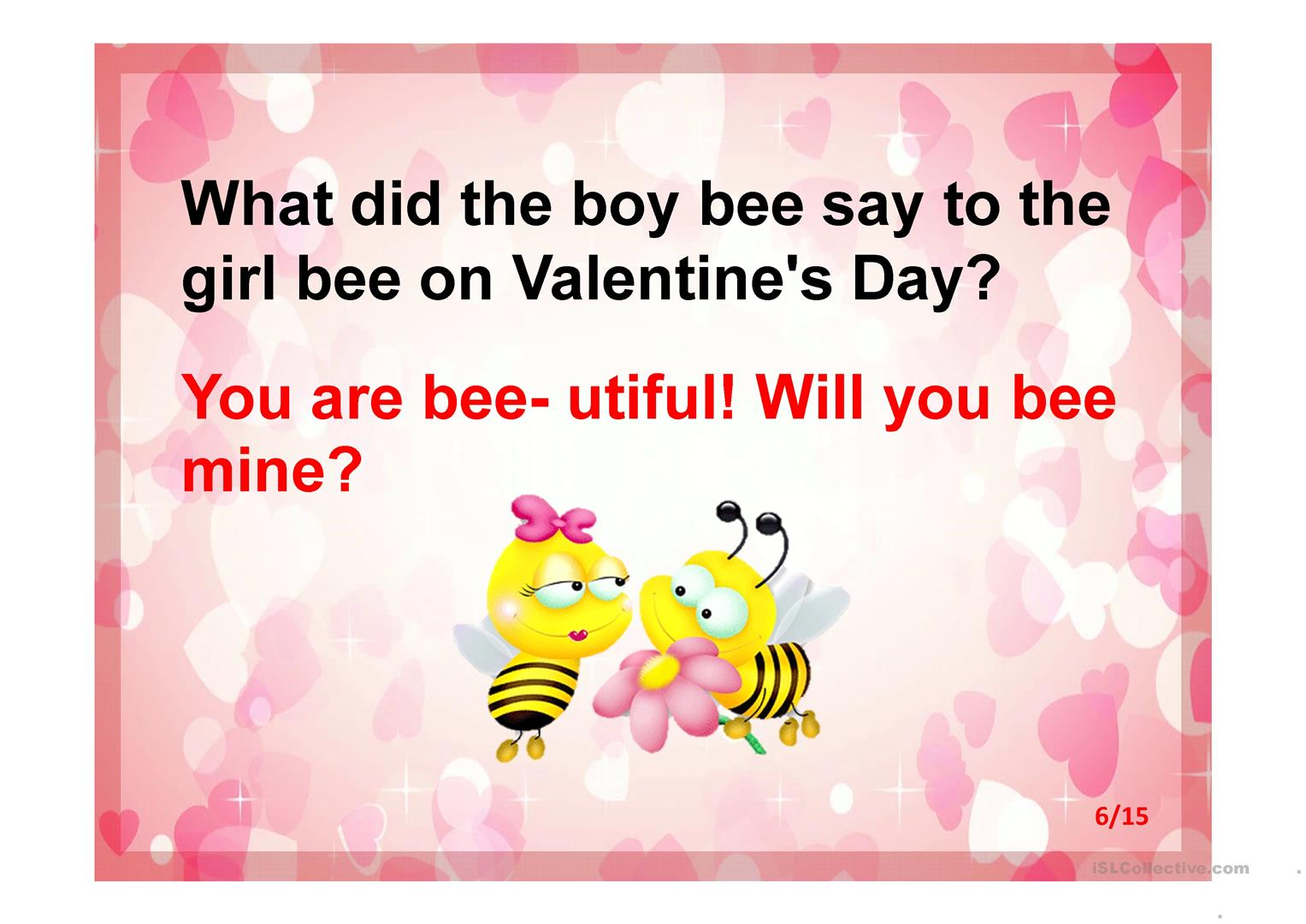 Valentine S Day Riddles Worksheet