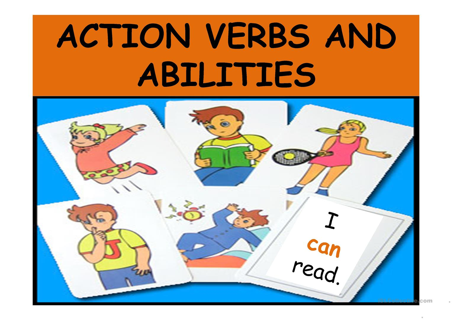 Action Verbs And Abilities