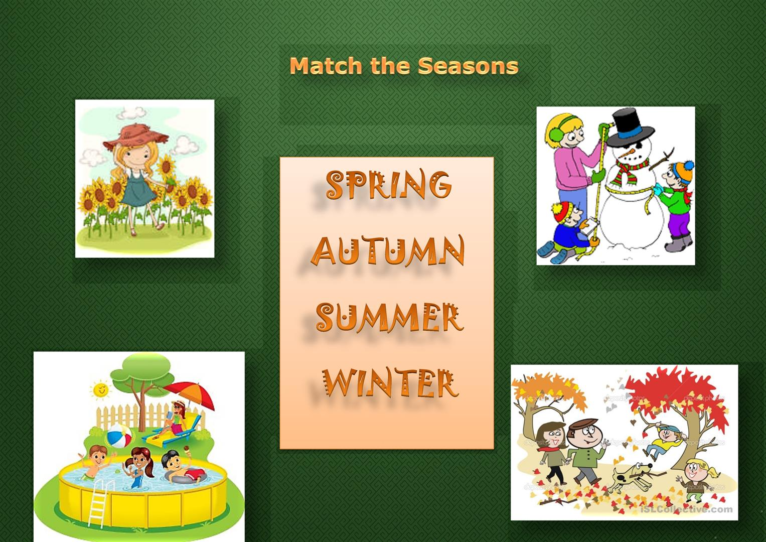 Match The Seasons