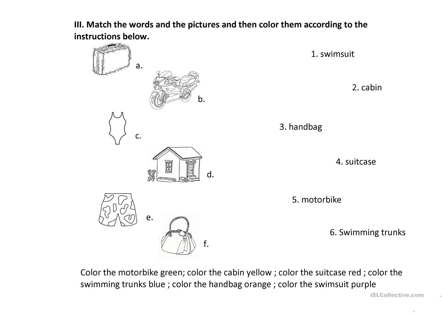 Letter From A Summer Camp 2 Worksheet
