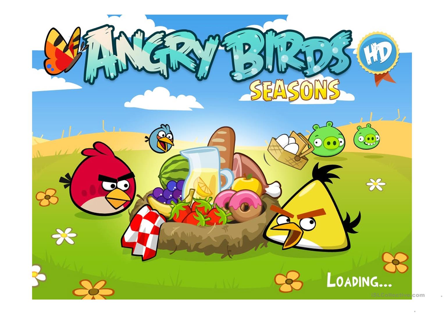Angry Birds General Knowledge Quiz Worksheet