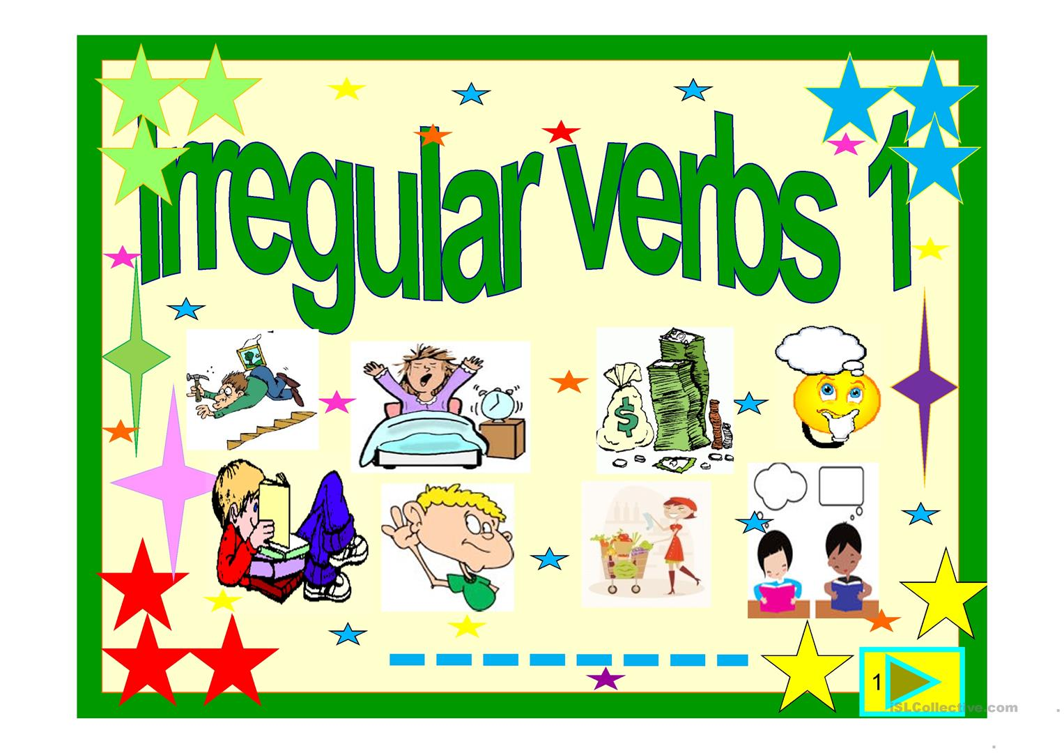 Irregular Verbs Powerpoint 1