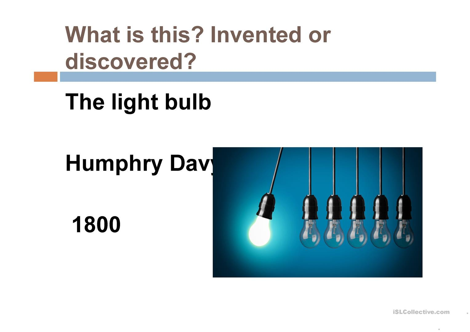 Discoveries And Inventions That Changed The World