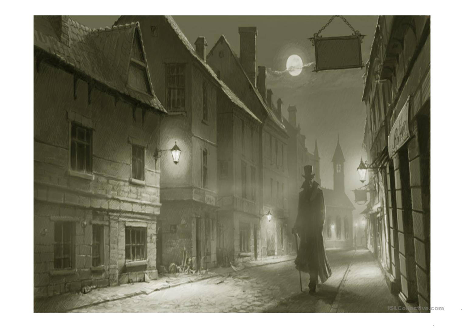 Jack The Ripper Passive Voice Worksheet