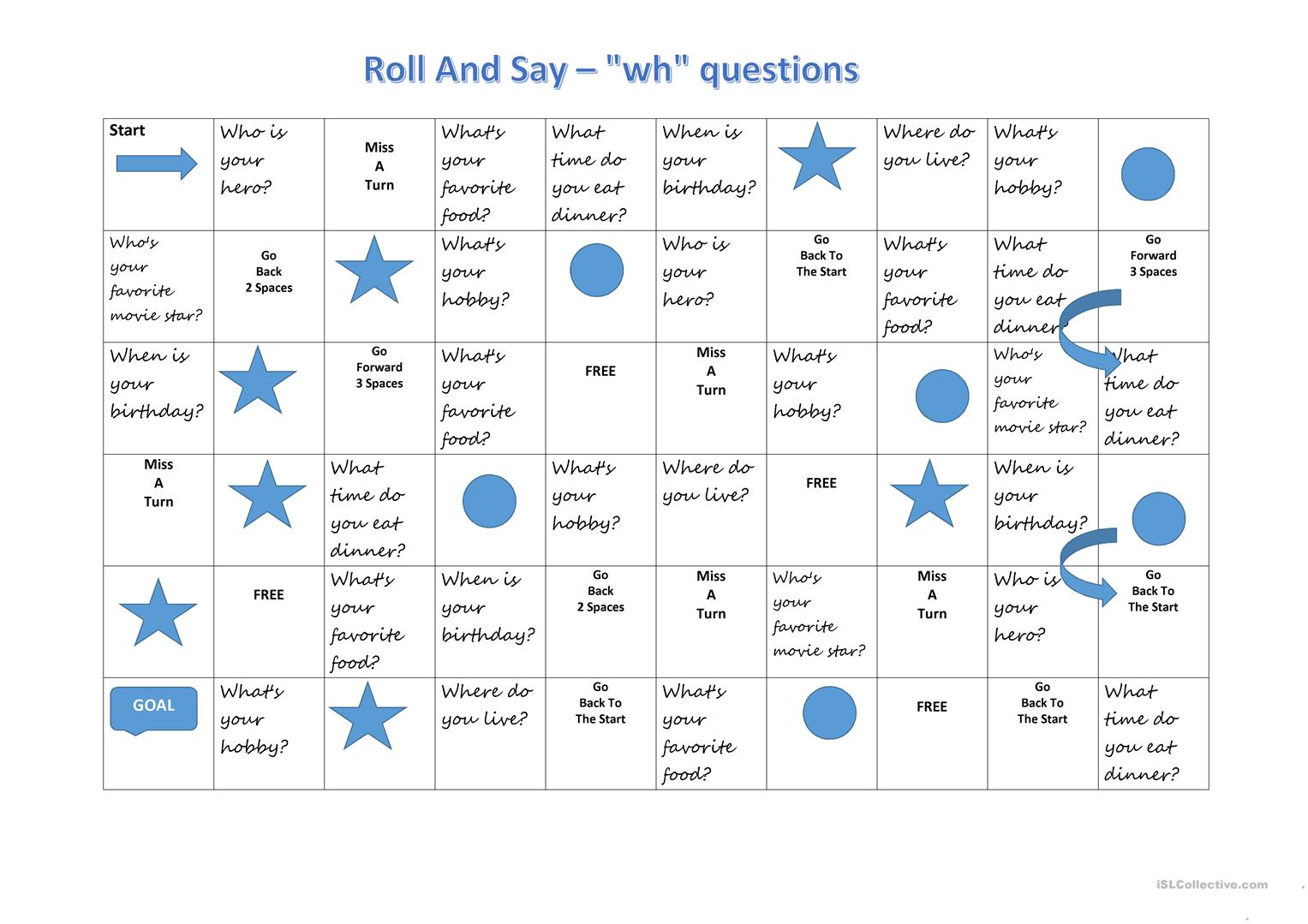 Roll And Say