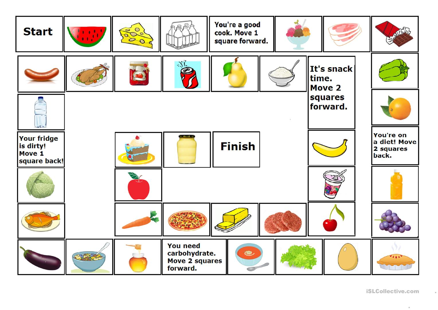 Food Game 2 Food Game Corrected Worksheet