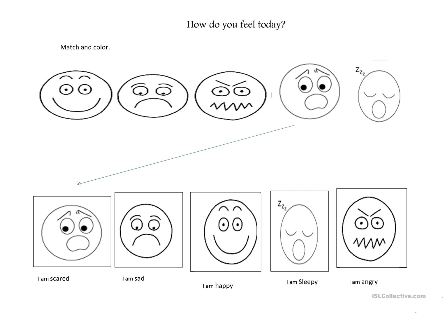 Emotions Worksheet