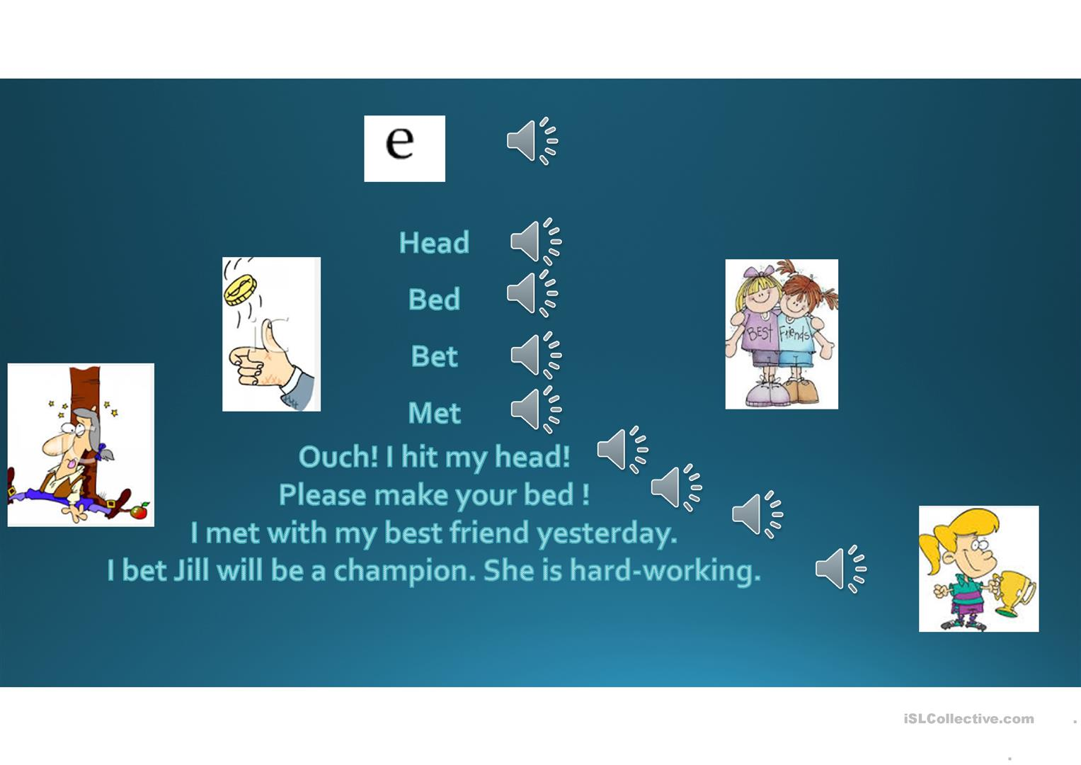 Pronunciation I Frequently Confused Vowels A Worksheet