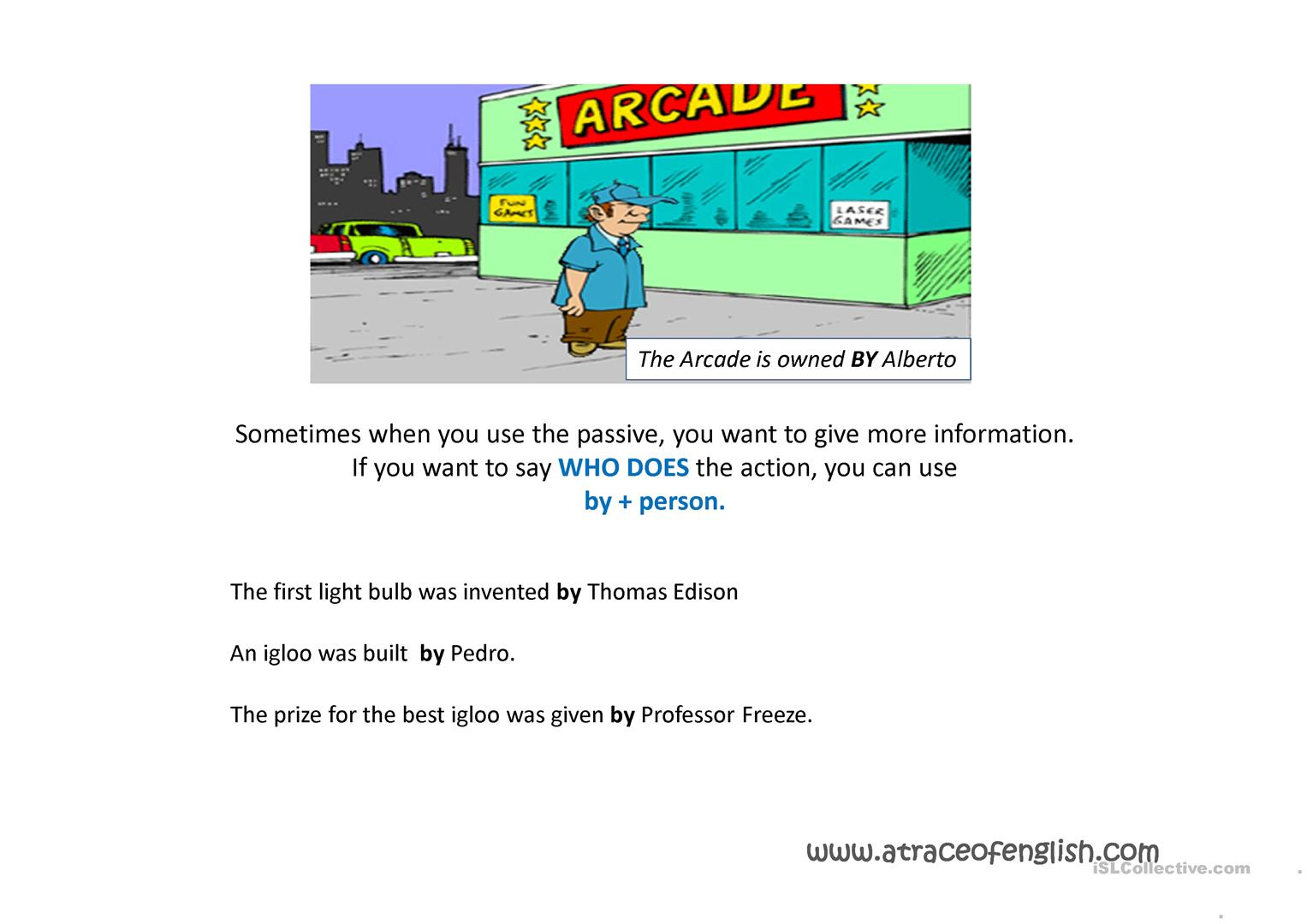 Active And Passive Voice Worksheet 8th Grade