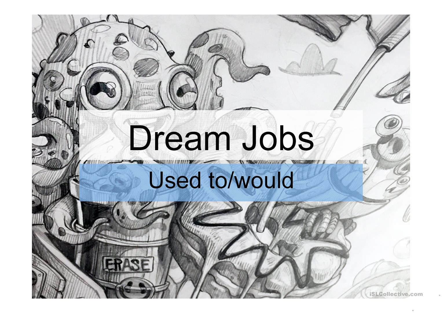 Dream Jobs Worksheet