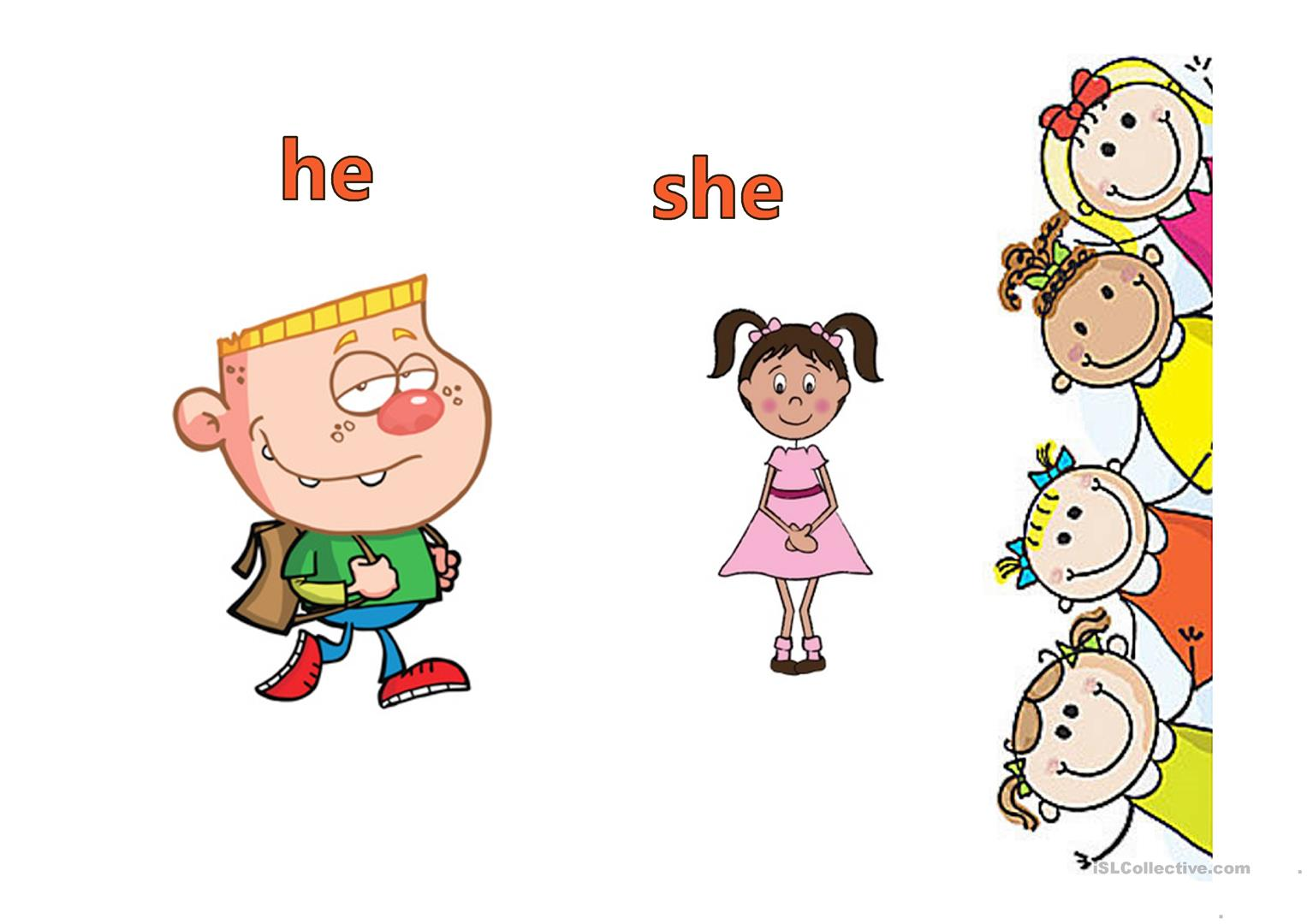The Verb To Be Personal Pronouns With Exercises