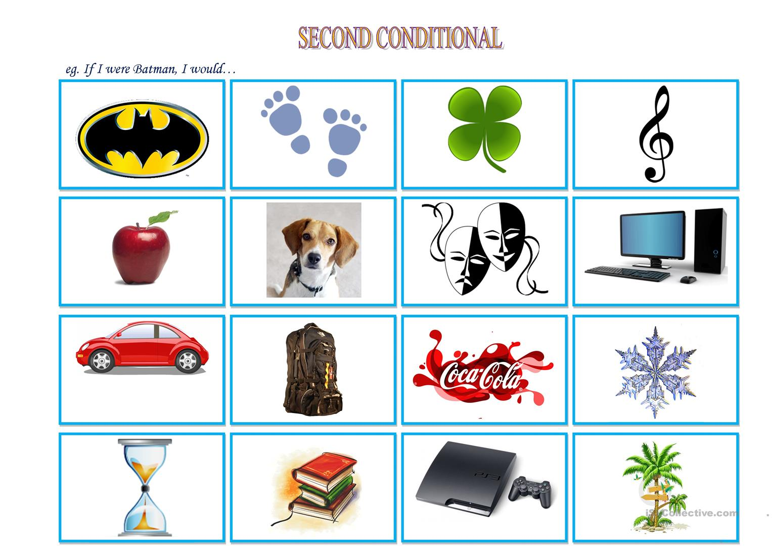 Second Conditional Cards