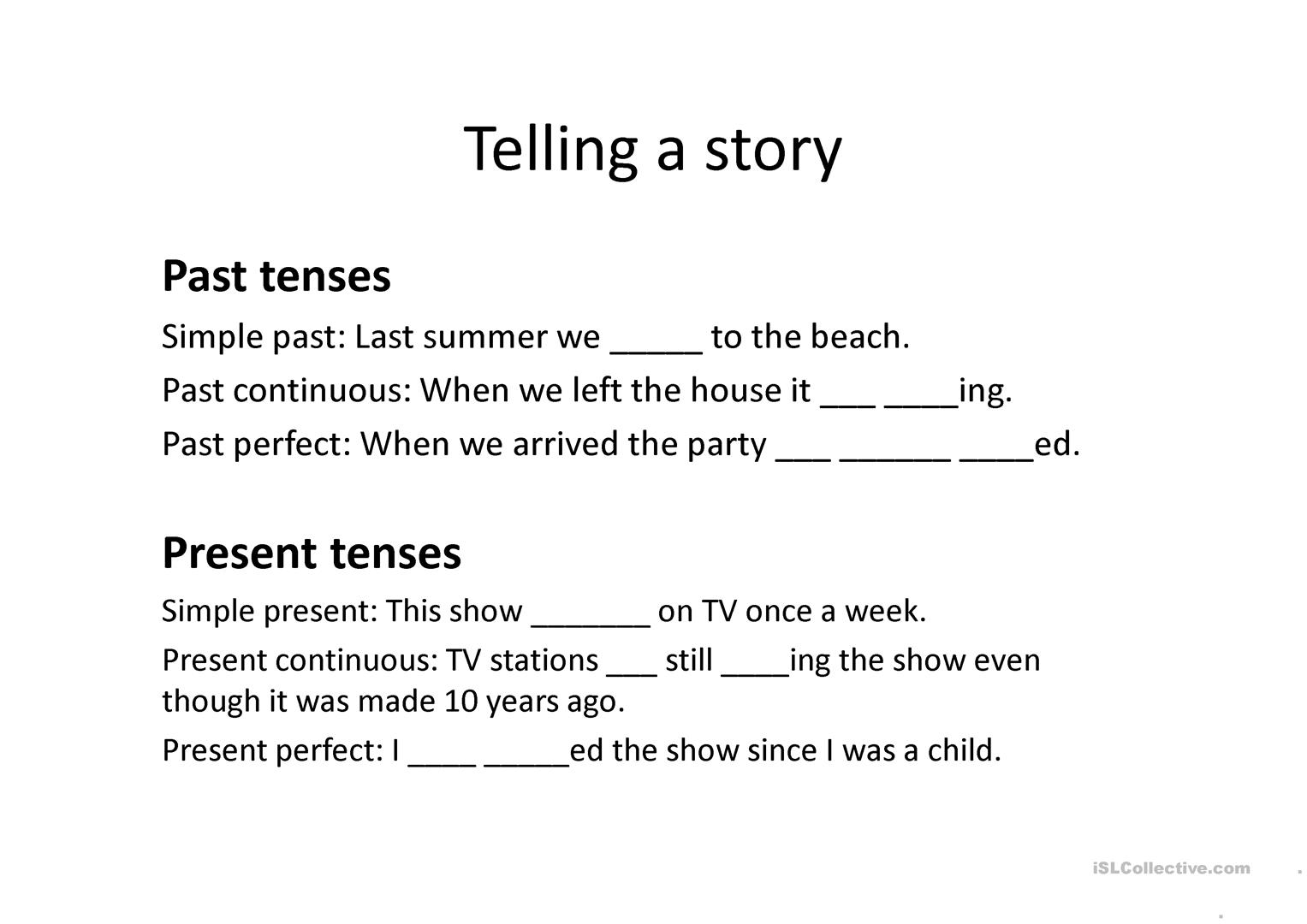 Ielts Speaking Part 2 Sequencing Worksheet