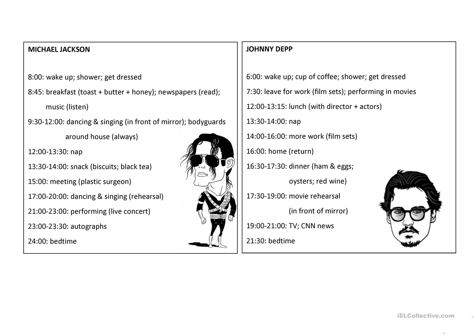 The Daily Routine Of Famous People