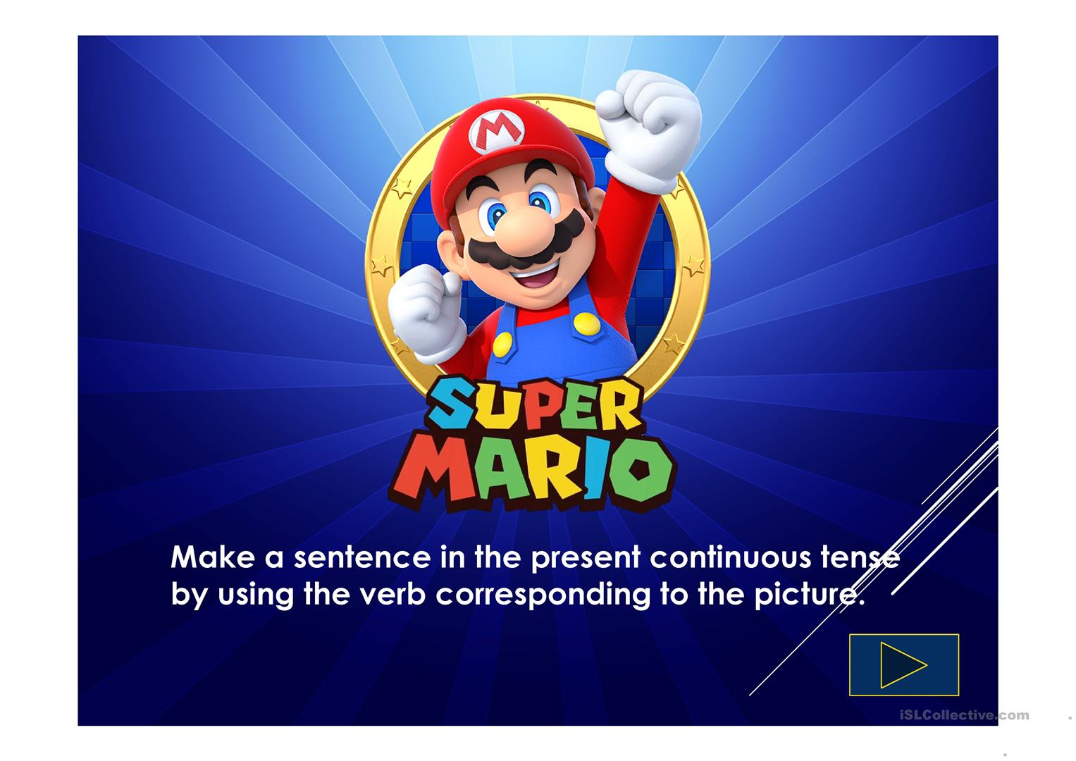 What Is Super Mario Doing