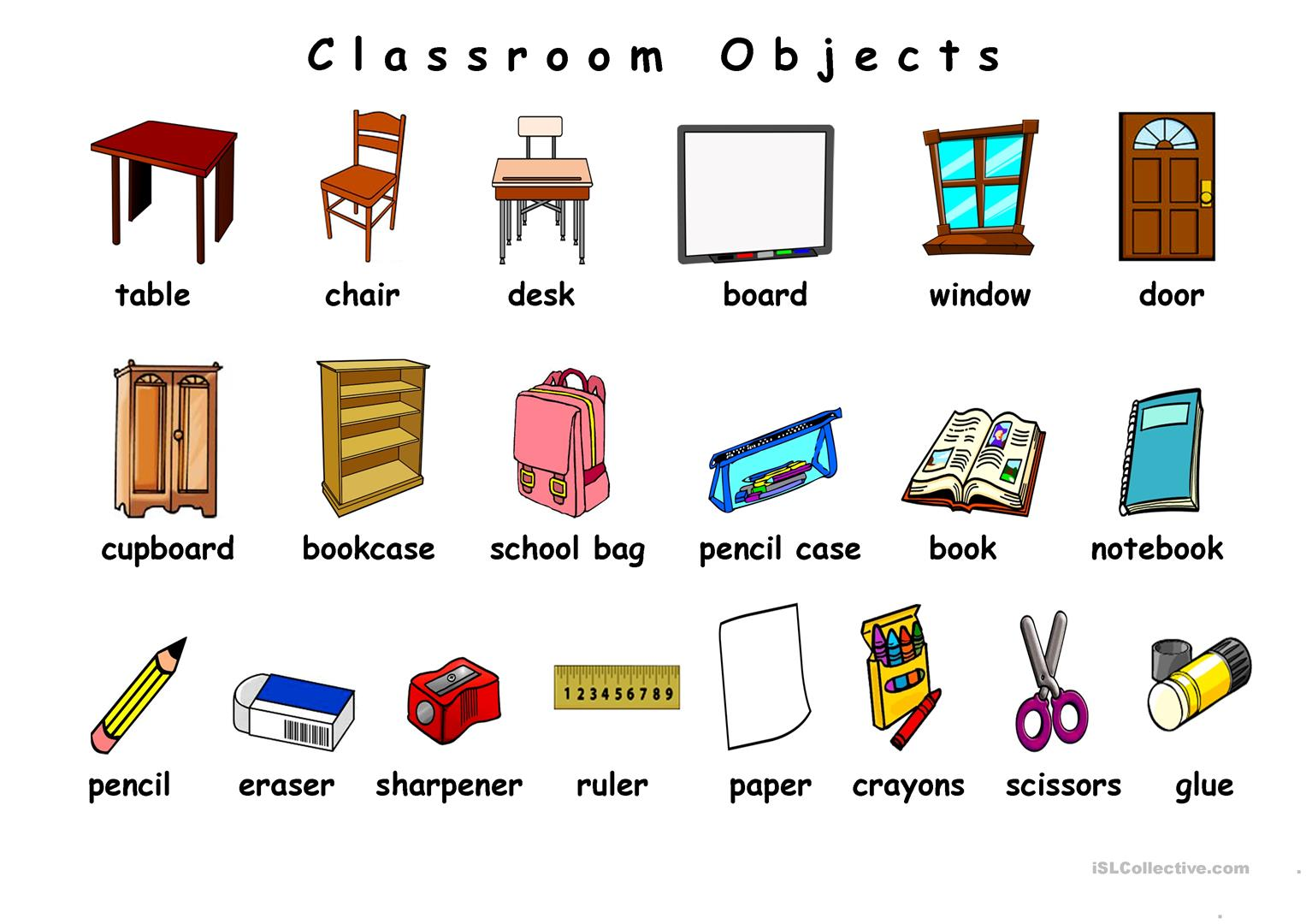 Object Description Worksheet