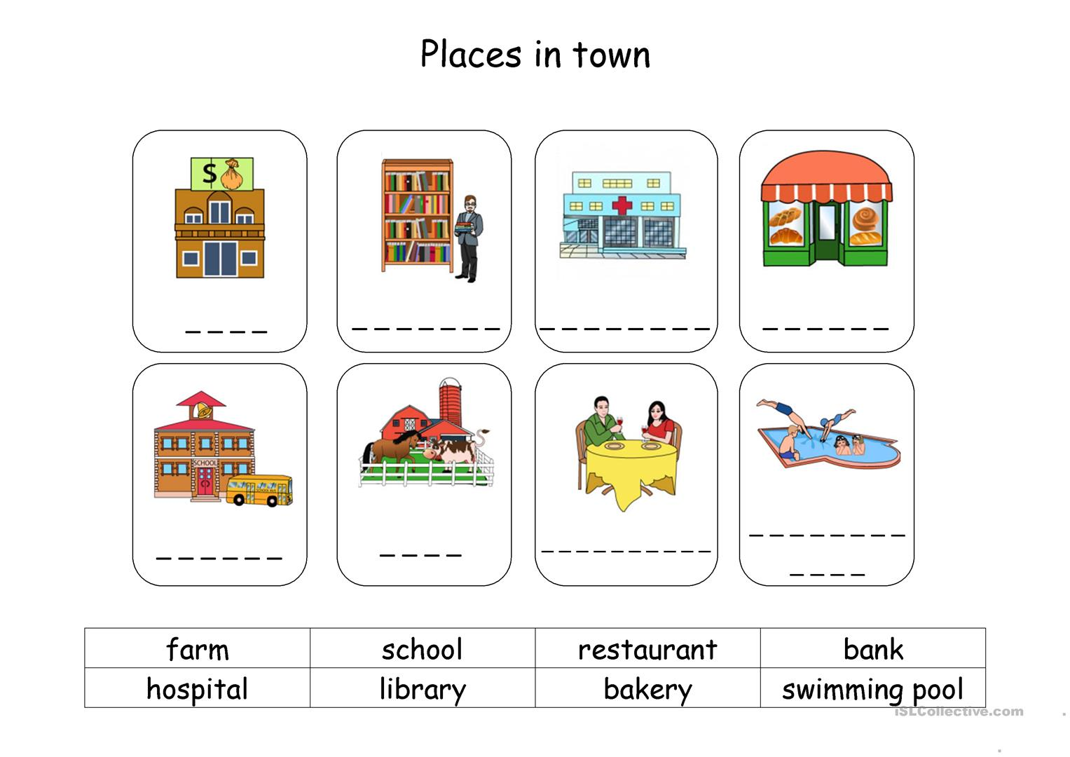 Places In Town