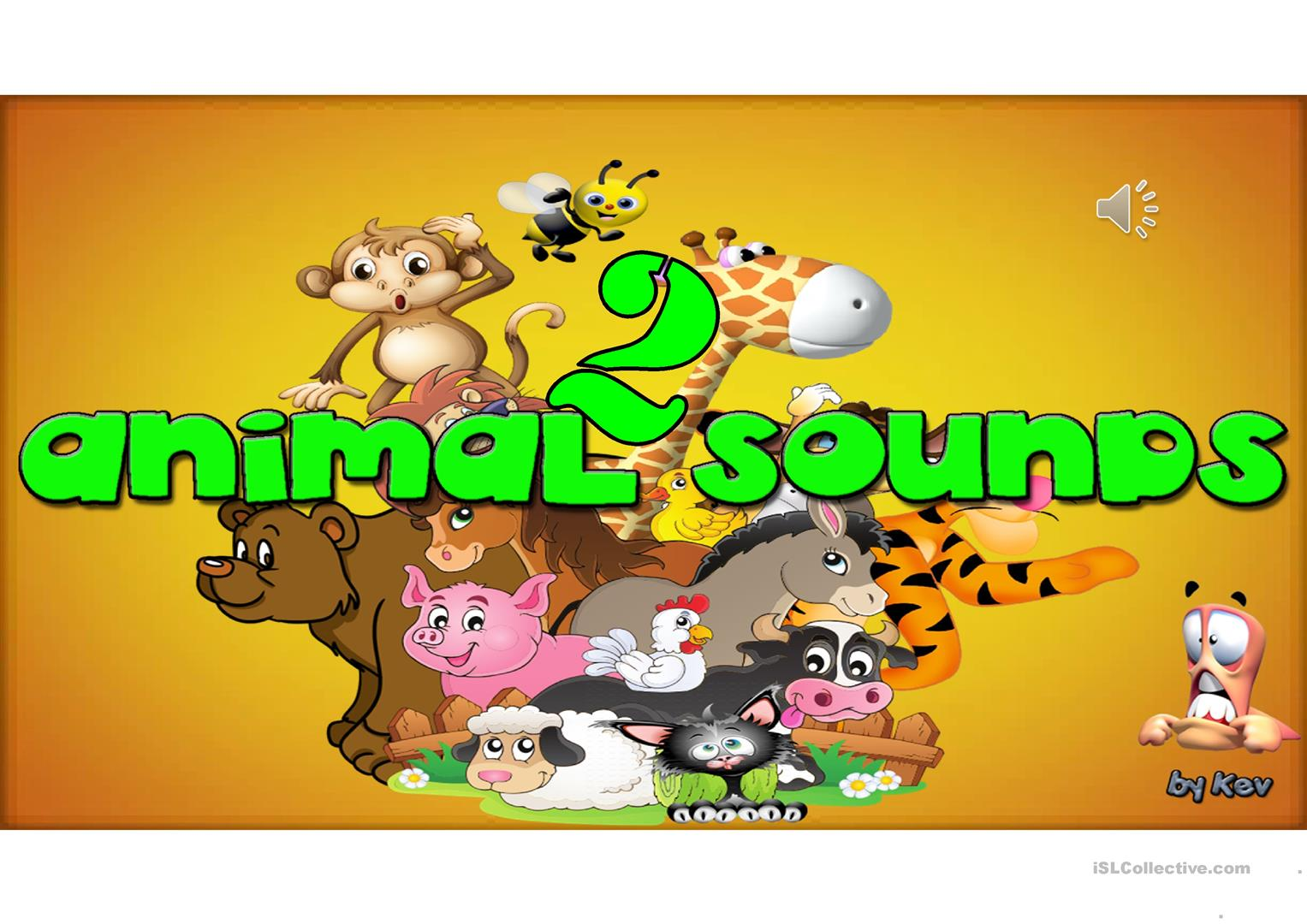 Animal Sounds Part 2