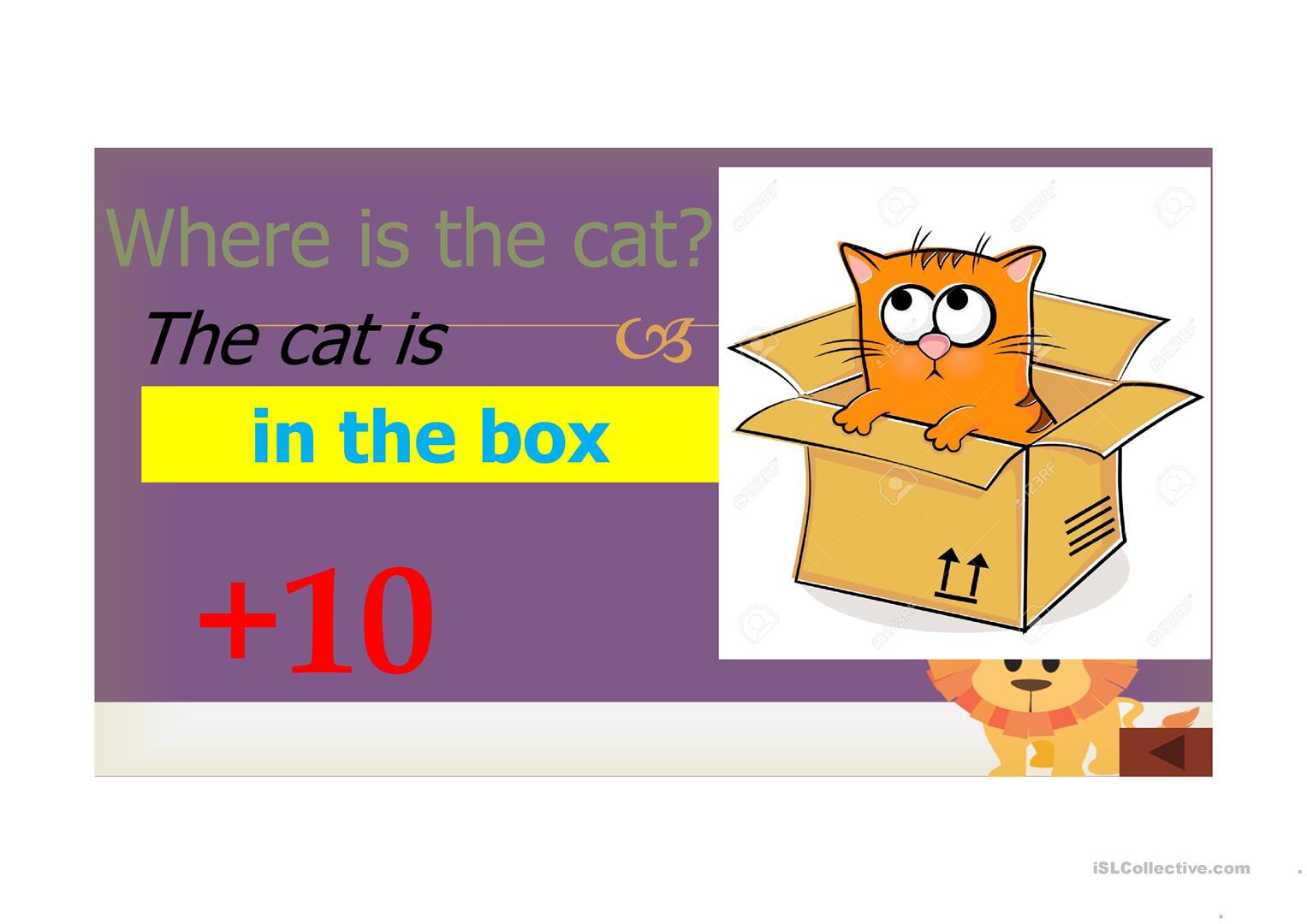 Prepositions In On Under Next To Between In Front Of Worksheet