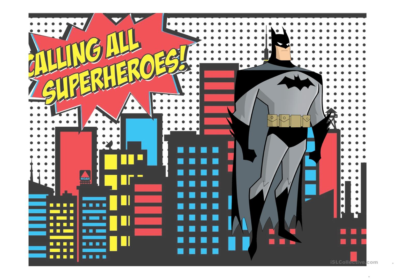 Superheroes Can Can T Worksheet